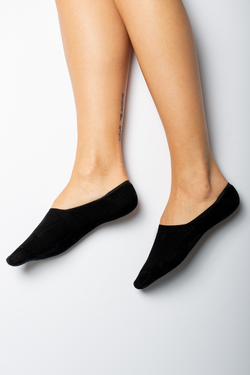 Terrera Ladies No Show Bamboo Socks - 2 Pack