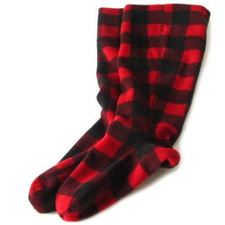 Polar Feet Fleece Bootliners - Lumberjack