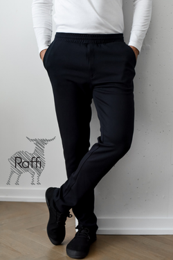Raffi Aqua Cotton Easy Pants - RW12356p