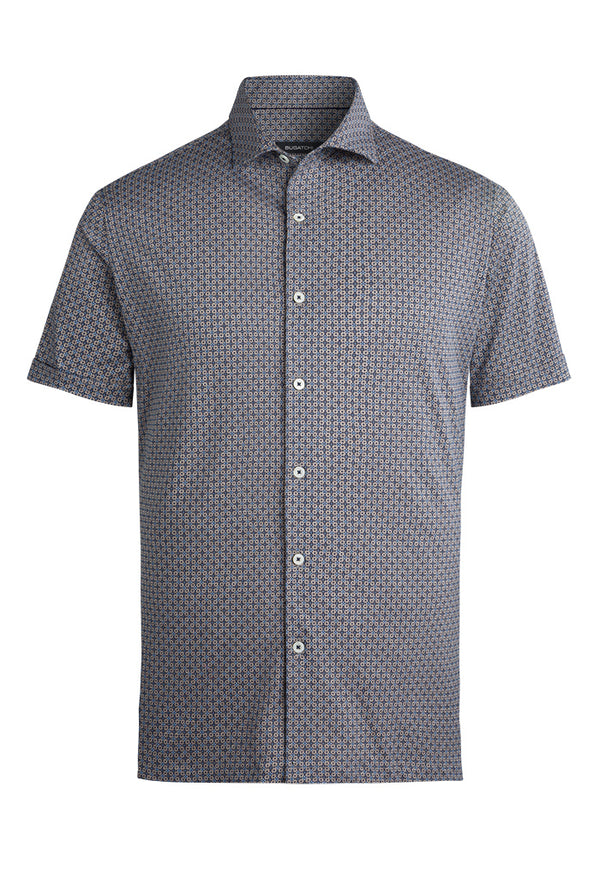 Bugatchi Short Sleeve Performance Shirt