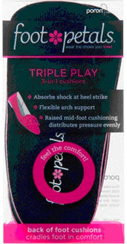 Foot Petals Triple Play