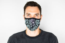 Fidelity Non Medical Bolf Paisley Face Mask Version 3
