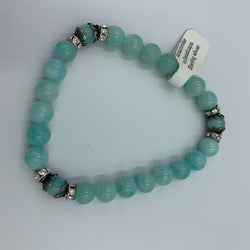 Joanna Bisley Amazonite and sterling silver Bracelet