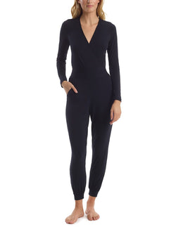 Commando Butter Wrap Long Sleeve Jumpsuit