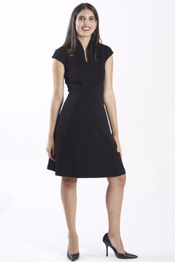 Nora Gardner Evelyn Fit & Flare Dress