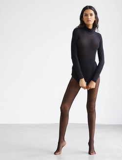 Commando Chic Dot Sheer Tights -
