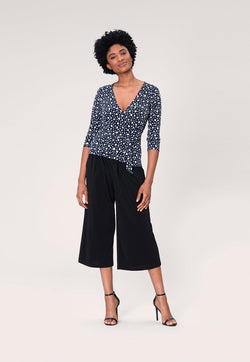 Leota Perfect Wrap Top