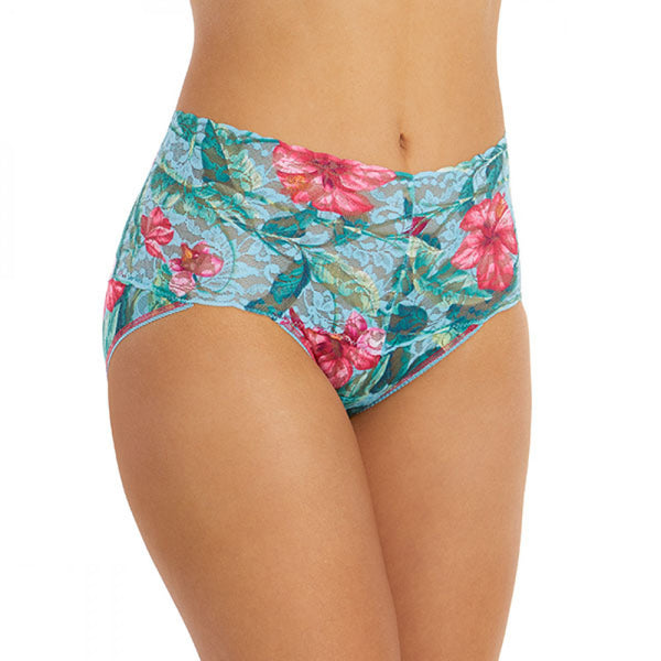 Hanky Panky Moonflower Retro V-kini