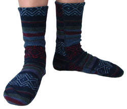 Polar Feet Adult Fleece Socks - Nordic