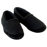 Polar Feet Mens Perfect MOCS Black Berber