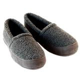 Polar Feet Mens Perfect MOCS Grey Berber