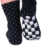 Polar Feet Adult Fleece Socks - Domino
