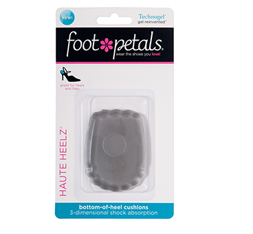 Foot Petals Haute Heelz Technogel Clear
