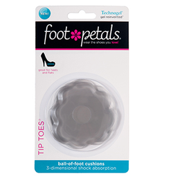 Footpetals Tip Toes Technogel