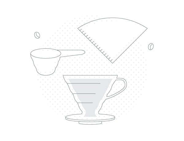 Hario V60 Brew Guides - Basic