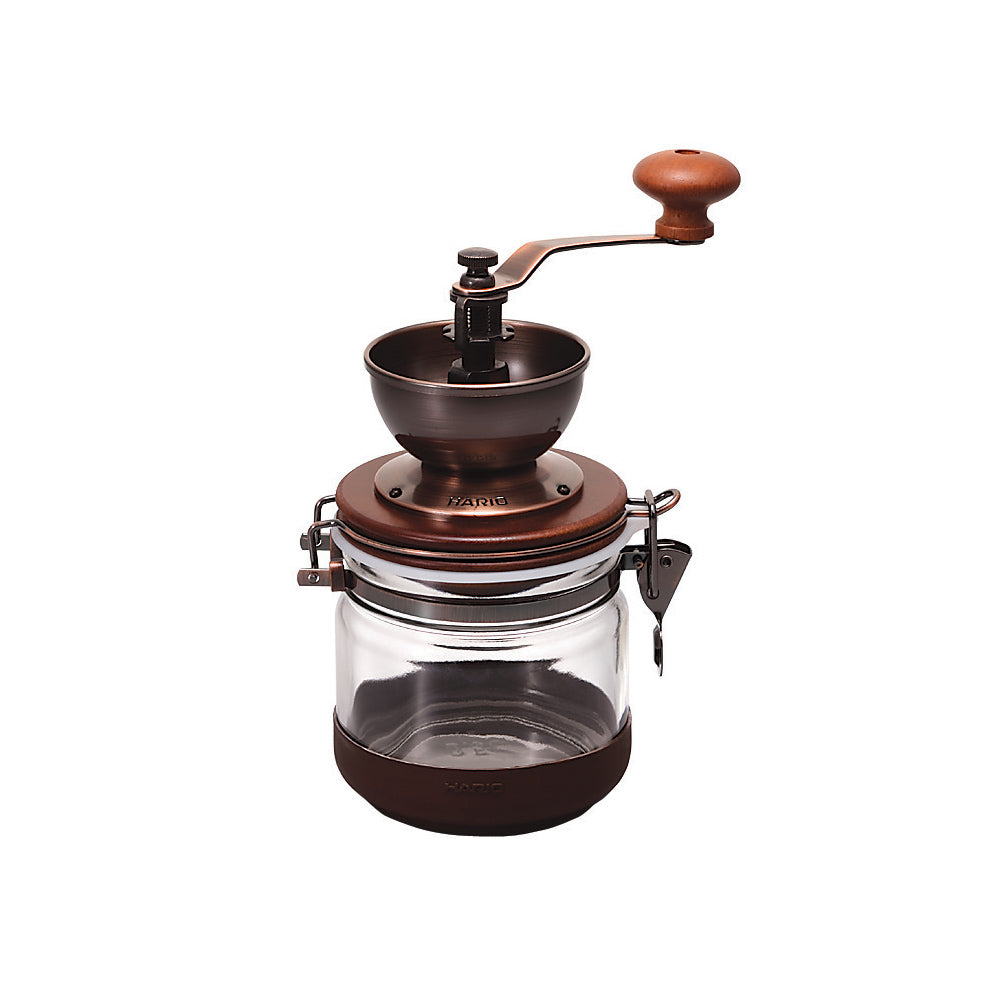 "Ceramic Burr ""Canister"" Hand Coffee Grinder"
