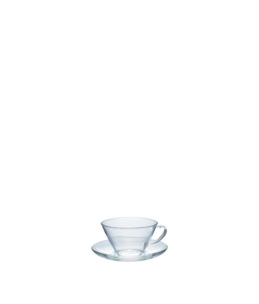 "Hario Cup & Saucer ""Wide"""