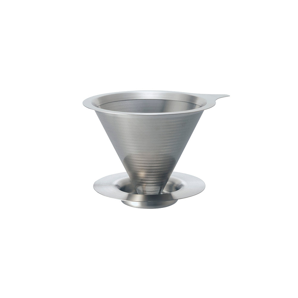 Hario V60 Double Mesh Metal Coffee Dripper - Size 01