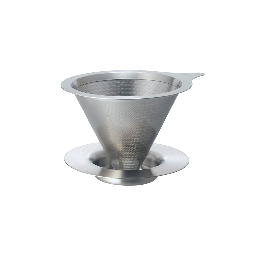 Hario V60 Double Mesh Metal Coffee Dripper - Size 02