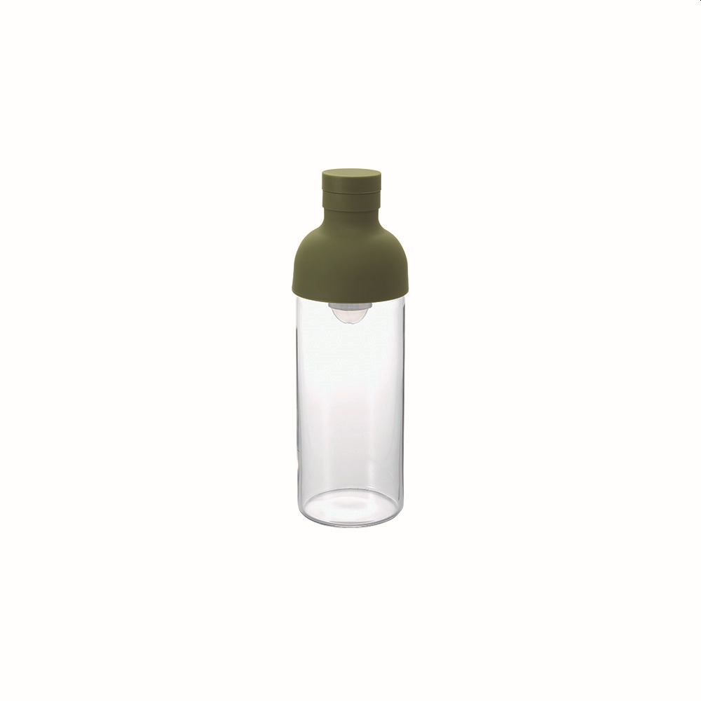Cold Brew Tea or Water Filter-in Bottle Olive Green 300ml