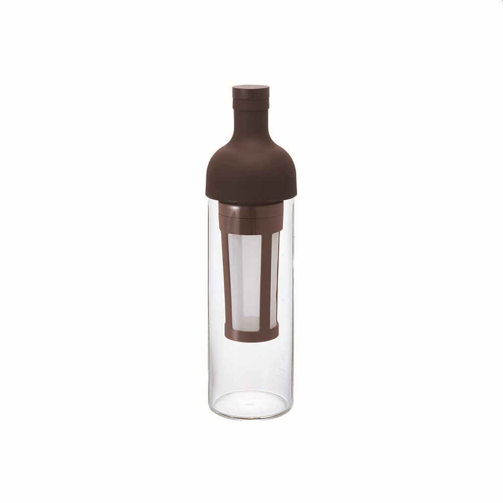 Cold Brew Coffee Filter in Bottle (Brown)