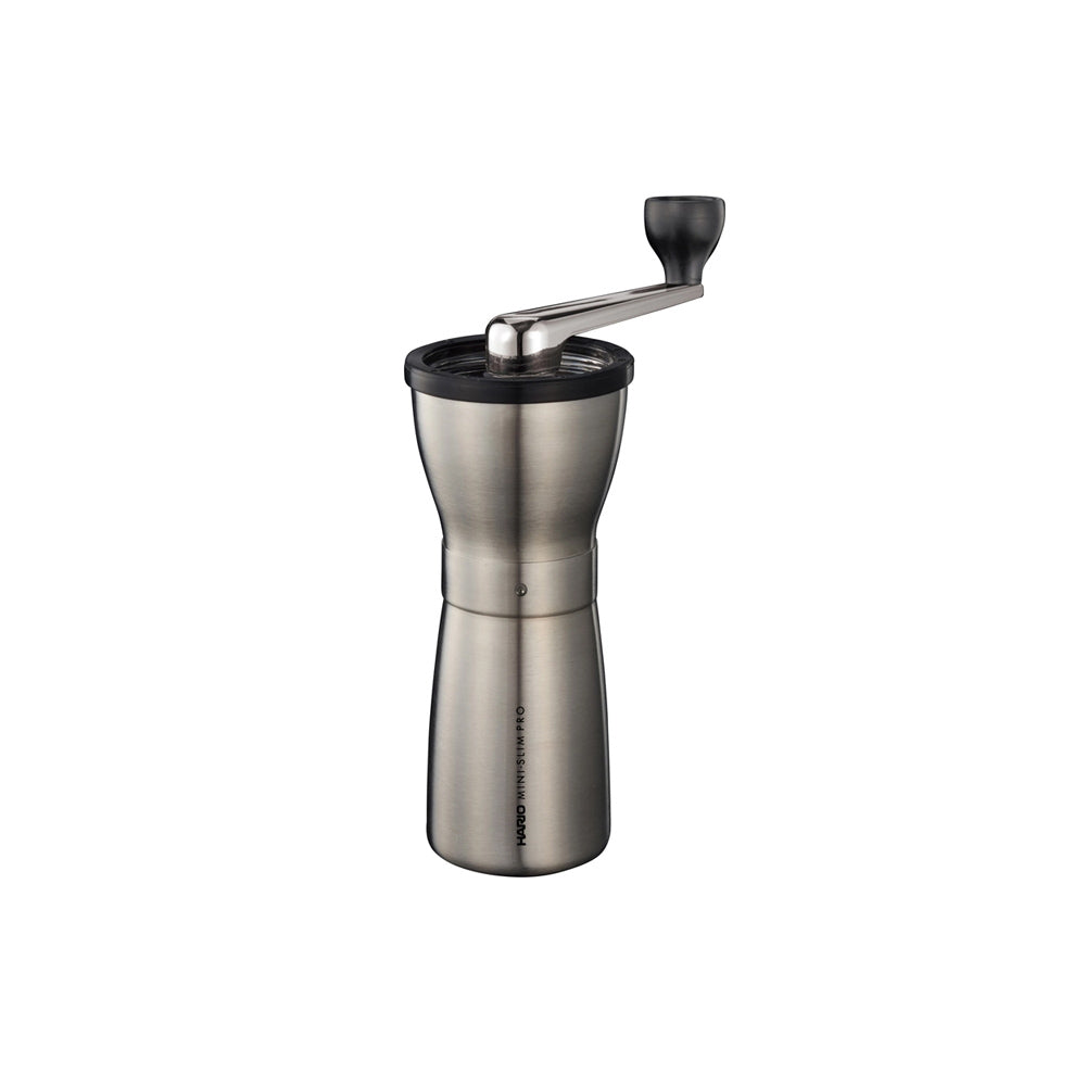 Hario Mini-Slim Pro Coffee Grinder (Stainless Steel)