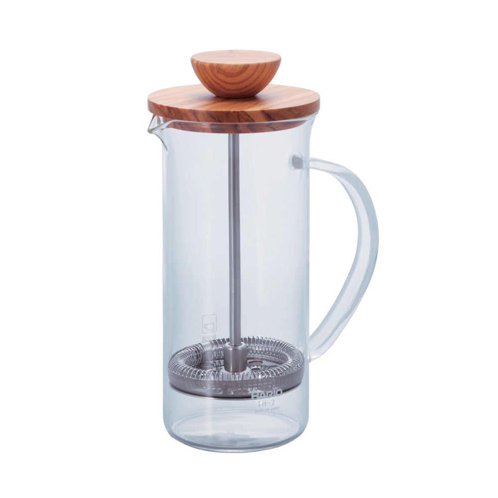 French Press Olive Wood Small 300ml