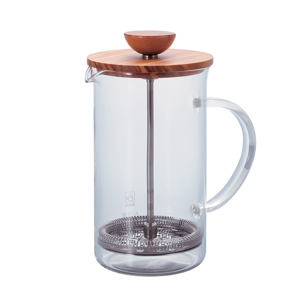 French Press Wood Large 600ml