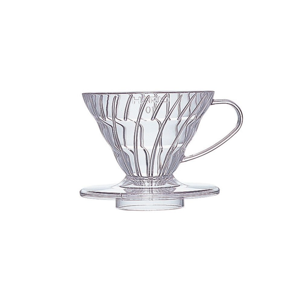 Hario V60 Coffee Dripper Plastic Size 01 (Clear)