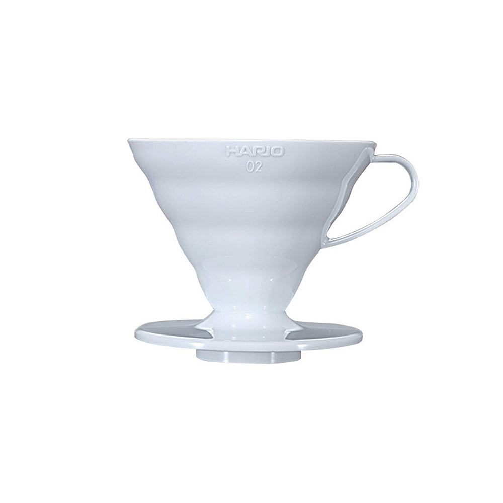 Hario V60 Coffee Dripper Plastic Size 02 (White)