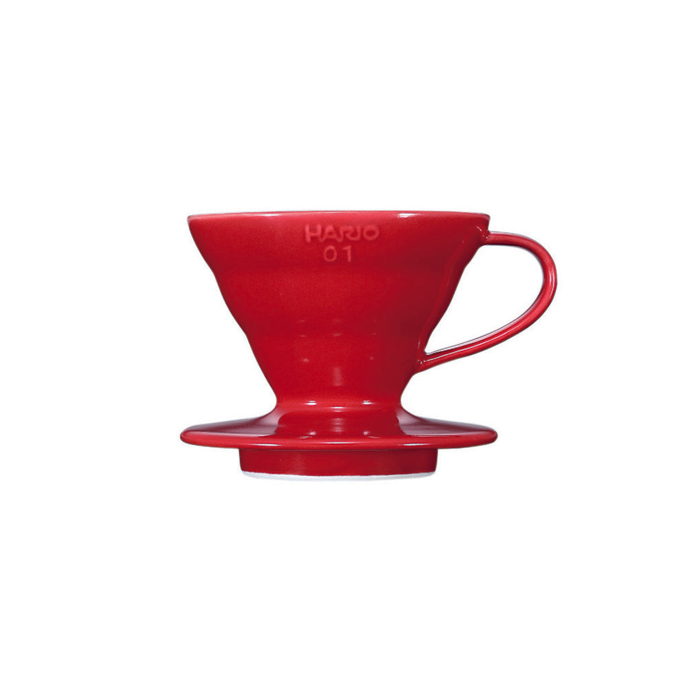 V60 Ceramic Coffee Dripper Red 01