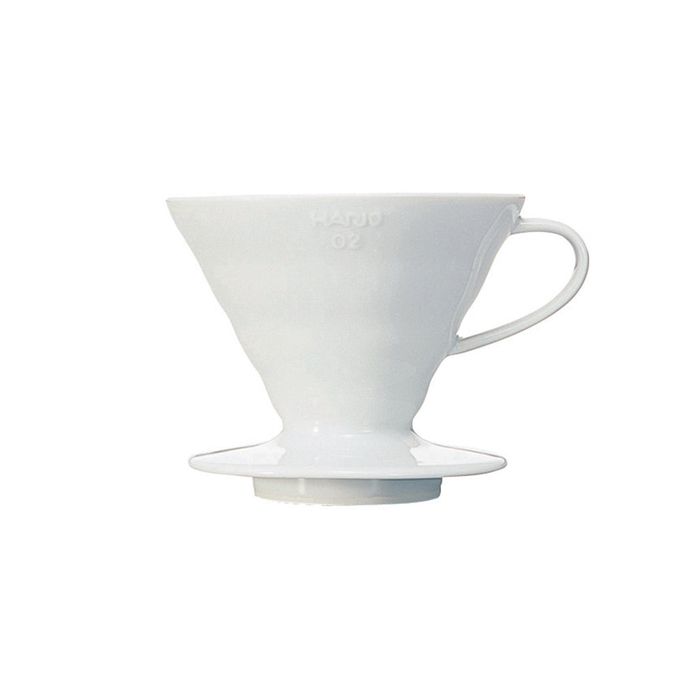 Hario V60 Ceramic Coffee Dripper White - Size 02