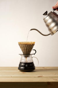 Hario V60 Glass Dripper Transparent Black 02