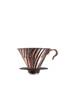 Hario V60 Metal Coffee Dripper Copper 02