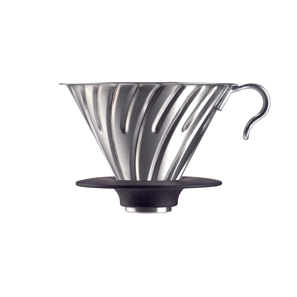 V60 Metal Coffee Dripper Stainless Steel 02