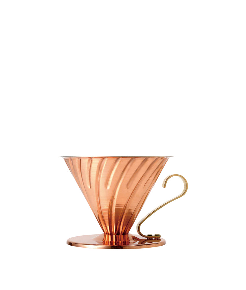 V60 Copper Dripper (metal interior)