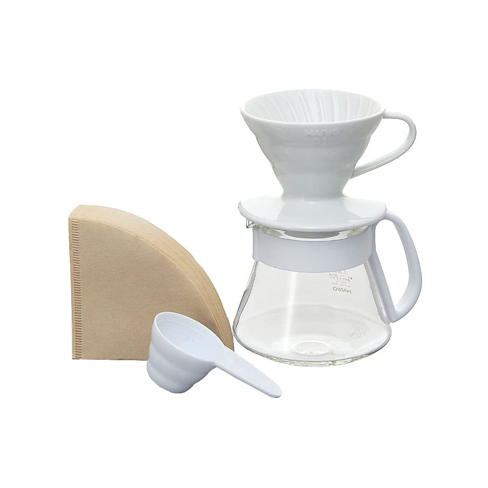 V60 Pour Over Kit Ceramic White 01