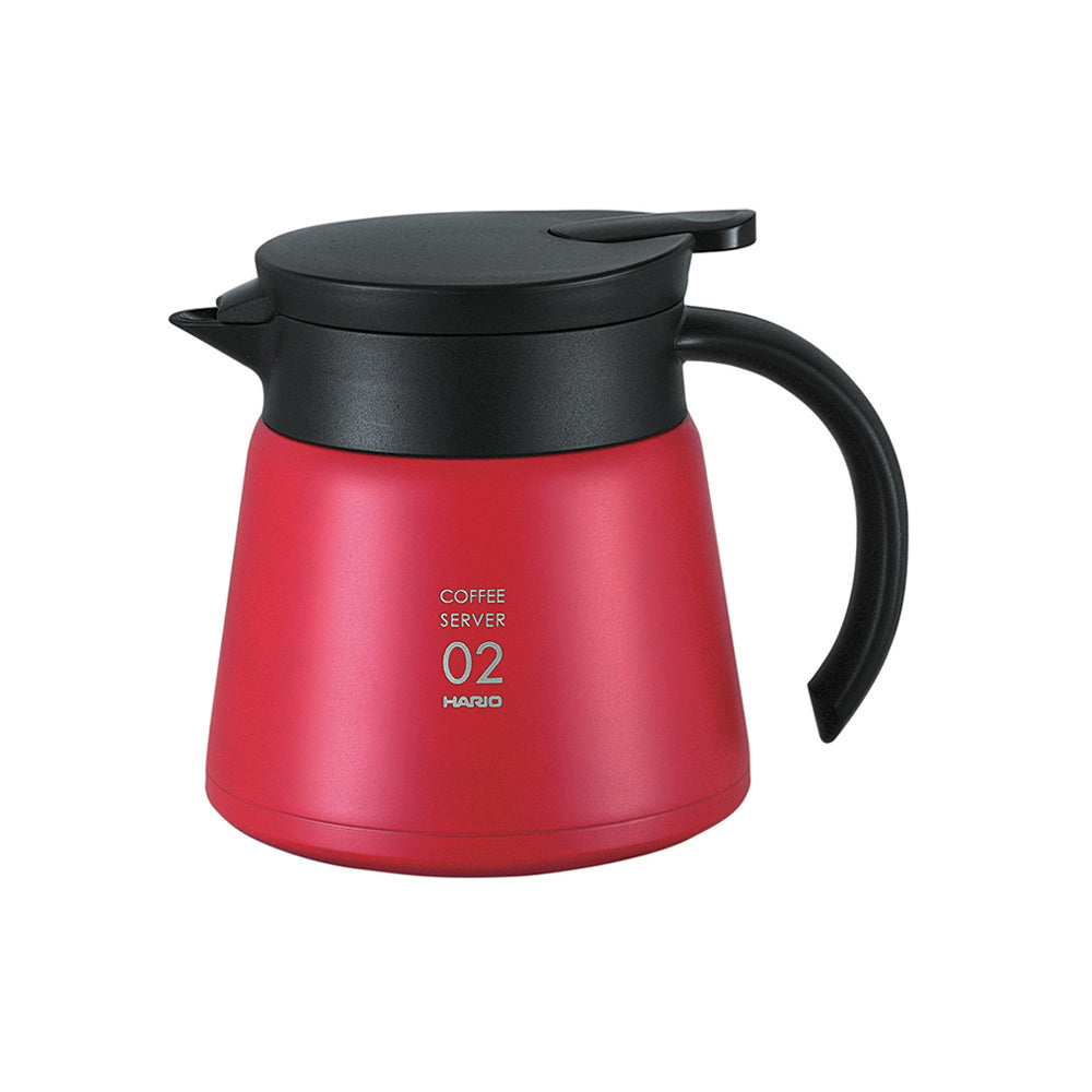 Heat resistant server 2 cup (Red)