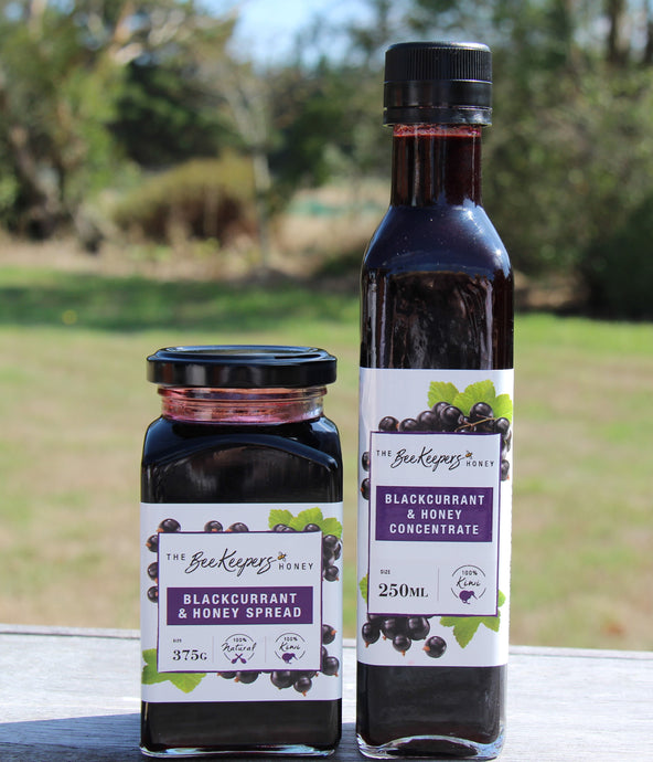 Blackcurrant & Honey - our 'Dynamic Duo' of taste & well being