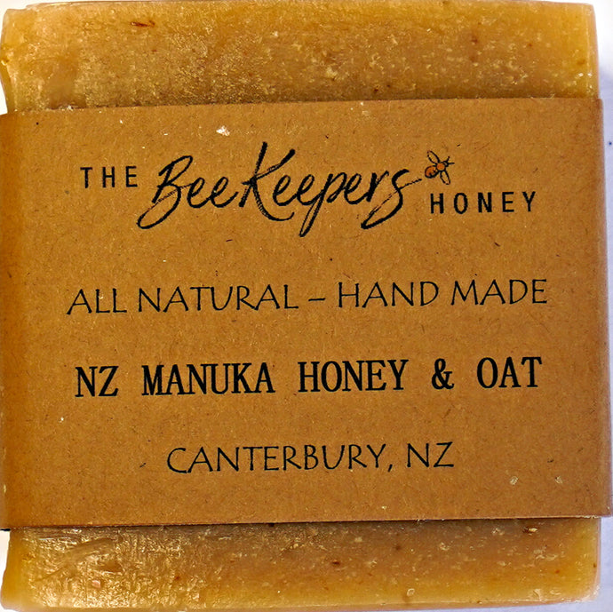 HANDMADE MANUKA HONEY & OAT SOAP