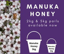 Load image into Gallery viewer, MANUKA HONEY 2kg Pails $50 including delivery* & 5kg Pails $120 including delivery*