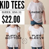 Personalized School Tee | Personalized Shirt | Girly T-shirt