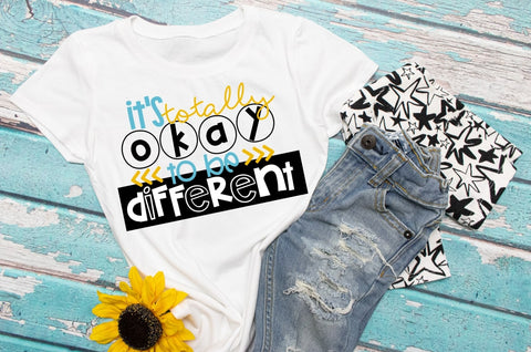 Autism awareness Tee | It's okay to be different shirt
