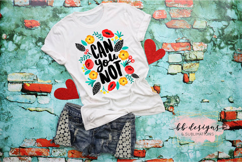 Can you Not Tee | Sarcastic Shirt | Adult Humor