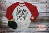 Home Sweet Home Tee | Baseball Shirt | Softball T-shirt