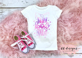 TIE DYE That Bow Though Tee | Big Bow Shirt | Girly T-shirt