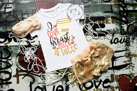Breastfeeding tee | girly breastmilk shirt