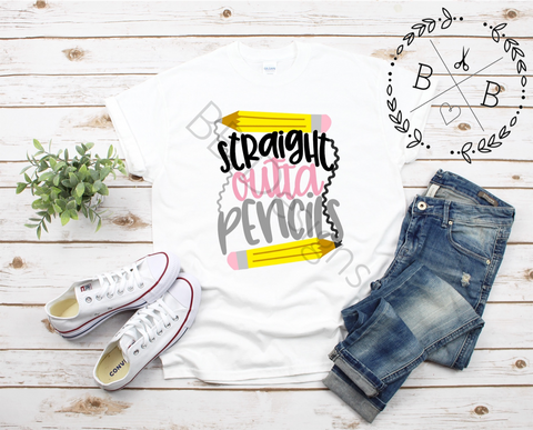 Teacher Tee | Educator Shirt | Pencil T
