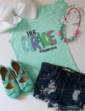 His Grace Is Sufficient Shirt | Christian Tee | Kid's Christian Top