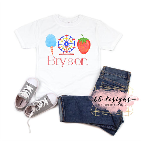 Strawberry Festival shirt | Personalized Tee